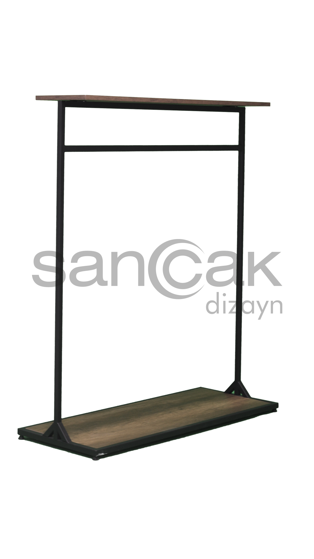 WOODEN MIDDLE STAND